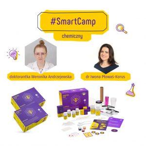 #SmartCamp chemiczny - warsztaty naukowe online dla dzieci zainteresowanych chemią