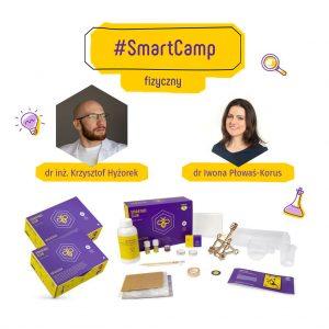 #SmartCamp fizyczny - warsztaty online dla dzieci lubiących fizykę