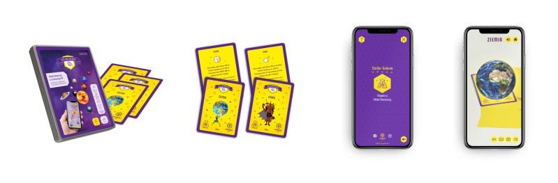 zestaw kart edukacyjnych dla dzieci